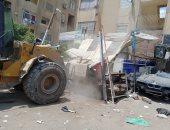 تشميع 29 محلا وإزالة تعديات على أملاك الدولة فى حملة شرق مدينة نصر