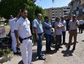 صور.. رئيس جهاز الشروق يقود حملة لإزالة الاشغالات والمخالفات بالمدينة