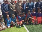 محافظ جنوب سيناء يفتح معلبين خماسى يطور سيناء بتكلفة مليون جنيه