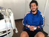 مدرب وست بروميتش : أحمد حجازي يتمتع بعقلية احترافية ويبكى بسبب الإصابة