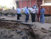 شركة مياه الأقصر: توفير 4 ملايين جنيه لإصلاح هبوط أرضى بشارع التليفزيون