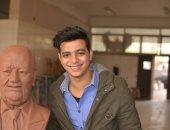 ناحت تمثال حسن حسنى: نفسى اعرف رأيه فى العمل وأحمد زكى المرة الجاية