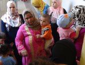 """قافلة طبية لجامعة المنيا بـ"""" قرية زهرة""""..و3 ندوات توعوية عن الصحة الإنجابية"""