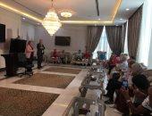 وفد الجمعية التونسية للتنمية البشرية يزور مركز الأزهر العالمى للفتوى الإلكترونية
