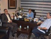 صور.. رئيس الاتحاد الليبى لكرة القدم يزور الجبلاية ويشكر سويلم