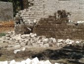 إزالة التعديات عن أراضى تابعة للأوقاف شرق الإسكندرية