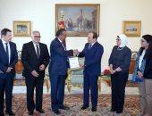 """تفاصيل لقاء السيسى بمدير """"الصحة العالمية"""".. إشادة عالمية بالمبادرات المصرية"""