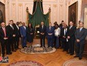 على عبد العال يستقبل رئيس برلمان توجو لبحث سبل التعاون