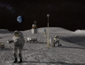 وكالة الفضاء الأوروبية تأمل فى بناء قواعد تحت الأرض على سطح القمر