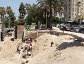 """""""آثار الإسكندرية"""": إزالة المخلفات بمحيط طابية النحاسين الأثرية"""
