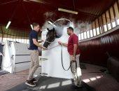 """تقنية جديدة لتبريد الخيول فى """"سباقات دبى"""" عبر النيتروجين"""