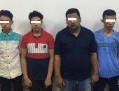 """أول صورة للمتهمين بالتعدى على """"معاق الشرقية"""" بعد القبض عليهم"""