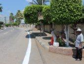 صور.. إعادة تخطيط وتجميل مدينة كفر الشيخ