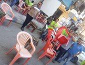 صور.. ضبط 150 حالة إشغال طريق فى حملة شرق الإسكندرية