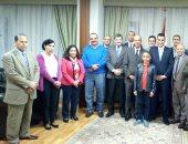 سفير مصر فى إثيوبيا يقيم حفل توديع للقائم بأعمال مكتب الإعلام فى السفارة