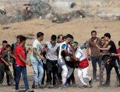 إصابة 70 فلسطينيا بنيران الاحتلال  خلال مسيرات العودة شرق قطاع غزة