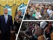 العالم هذا الصباح.. الرئيس الأمريكى يقدم وسام الحرية الرئاسى إلى بوب كوزى.. الروهينجا يتعرضون لأعمال عنف وحشية من جيش ميانمار.. وآلاف المهاجرين يؤدون القسم عقب حصولهم على الجنسية الأمريكية