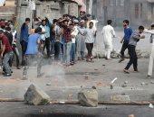 صدامات عنيفة بين الشرطة الهندية والمتظاهرين فى كشمير