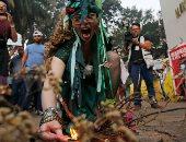 تظاهرات نشطاء البيئة للمطالبة بحماية غابات الأمازون فى البرازيل