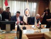 رئيس جامعة الإسكندرية يوقع اتفاقية مع جامعة بنها لبحوث السرطان