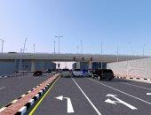 صور.. إنشاء جسر لتسهيل حركة المرور على طريق الأمير نايف فى الدمام بالسعودية