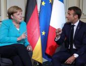 رئيس فرنسا يلتقي رئيسى وزراء بريطانيا وإيطاليا ومستشارة ألمانيا