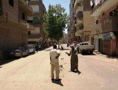 صور.. تطوير شوارع شرق السكة لخدمة السياحة وزراعة أشجار الزينة بالأقصر