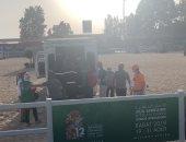 صور .. سقوط فارسة زامبيا خلال منافسات دورة الألعاب الإفريقية