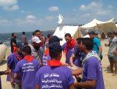 """""""الشباب والرياضة"""" بكفر الشيخ تنظم مهرجان الكشافة بمشاركة 140 شابا"""