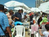 صور . فرض غرامات فورية على مستأجرى الشواطئ للمخالفة فى الأسعار