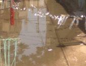 شكوى من غرق شارع فخرى بالبدرشين بمياه الصرف الصحى