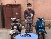 القبض على 3 عاطلين لسرقتهم الدراجات البخارية فى بولاق أبو العلا والنزهة