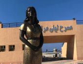 التنسيق الحضارى: سنطالب محافظة مطروح برفع تمثال ليلى مراد لهذا السبب