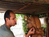 """صاحب تمثال ليلى مراد فى مطروح: مطابق لملامح الفنانة والصور """"خادعة"""""""