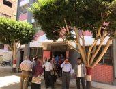 صور.. تعليم القليوبية: تطوير مدرستين بكفر فرسيس