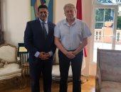 سفير مصر لدى صربيا يلتقي رئيس معهد السياسة والاقتصاد الدوليين في بلجراد