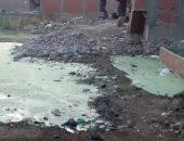 شكوى من تراكم القمامة ومخلفات محلات الطعام فى شارع عمر بن الخطاب بشبر الخيمة
