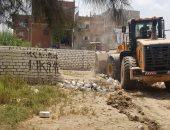 إزالة 35 حالة تعدٍ على أراضى الدولة شرق الإسكندرية