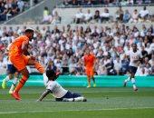 توتنهام يتأخر بهدف أمام نيوكاسل بالشوط الأول فى الدوري الإنجليزي.. فيديو