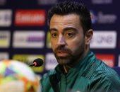 تشافى: تنتظرنا مباراة صعبة ضد النصر السعودي بدوري أبطال آسيا