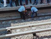 وفاة طفل إثر سقوطه تحت عجلات القطار بمحطة مترو كلية الزراعة