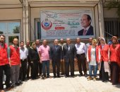 صور.. جامعة أسيوط: معهد جنوب مصر للأورام يكشف على 3 آلاف سيدة