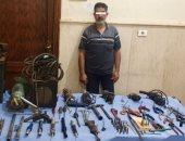 ضبط ميكانيكى حول منزله إلى ورشة تصنيع أسلحة نارية فى السويس