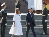 """شاهد.. أوكرانيا تستبدل الاستعراض العسكرى فى عيد الاستقلال بموسيقى """"الراب"""""""