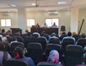 صور.. رئيس مدينة الطود يبحث تشغيل نظام ميكنة الخدمات الحكومية