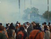 شاهد.. اشتباكات بين الشرطة الفرنسية ومحتجين على هامش قمة مجموعة السبع