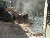 محافظة القاهرة تسترد فدانان أملاك الدولة بالمرج بعد إزالة التعديات عليها