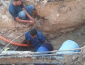 """""""مياه القناة"""": الانتهاء من إصلاح وتغيير شبكة مياه أبو عارف والقصاصين"""