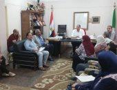 مدير صحة القليوبية يجتمع بمدير ورؤساء أقسام مستشفى الشاملة لمناقشة معوقات سير العمل