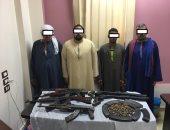 ضبط 12 شخصا بحوزتهم أسلحة نارية وذخيرة غير مرخصة بأسيوط والإسماعيلية